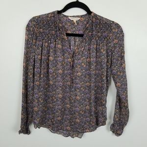Rebecca Taylor silk floral top